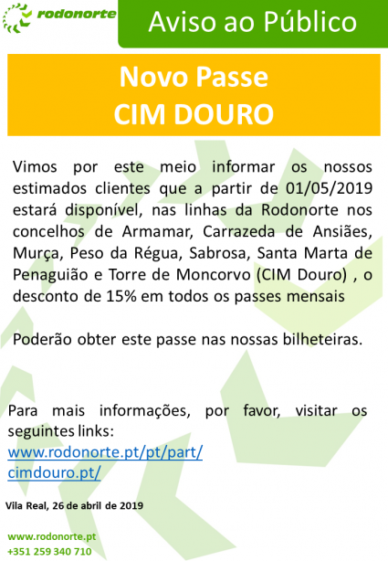 PART - CIM DOURO